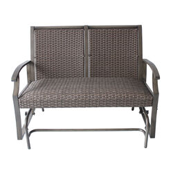 Living Accents  2  Brown  Aluminum  Chair
