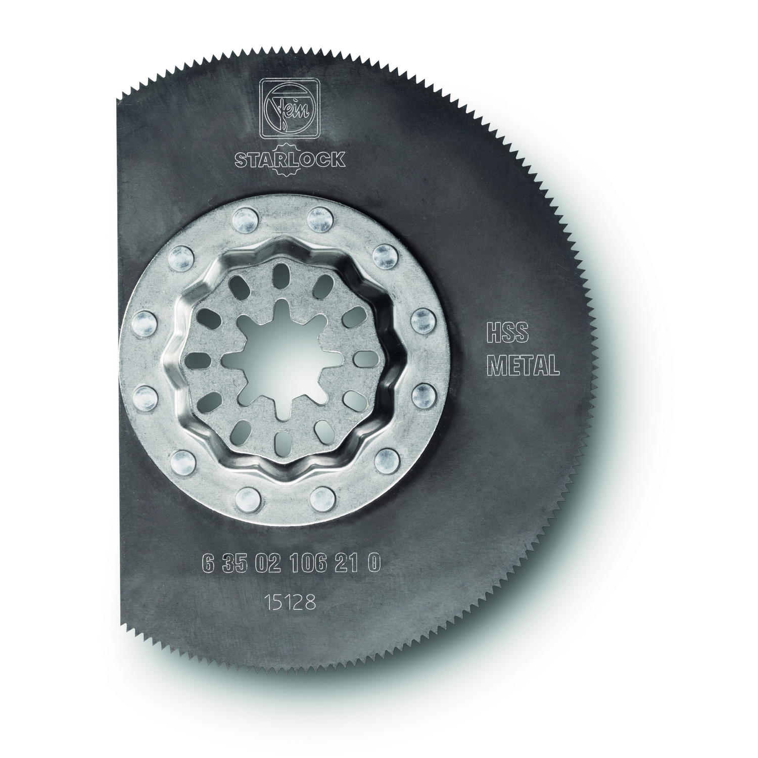Fein Starlock  Multimaster  3-3/8 in.  x 3-3/8 in. L High Speed Steel  Segment Saw Blade  1 pk