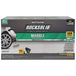 Rust-Oleum  RockSolid  Marble Mountain White  Floor Coating Kit  80 oz.