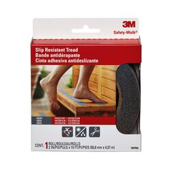 3M Gray Anti-Slip Tape 2 in. W x 180 in. L 1 pk
