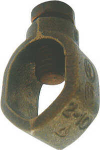 Sigma  5/8 in. Bronze  Ground Rod Clamp  1