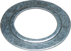 Sigma Electric ProConnex  1-1/2 to 1-1/4 in. Dia. Zinc-Plated Steel  Reducing Washer  For Rigid/IMC