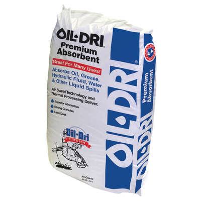 Oil Dri  Oil Absorbent  40 qt.