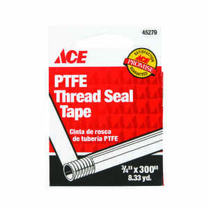 Ace  Blue  300 in. L x 3/4 in. W Thread Seal Tape  0.05 oz.