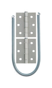 Ace  Zinc-Plated  Silver  Steel  Screen/Storm Door Hardware Set  1 pk