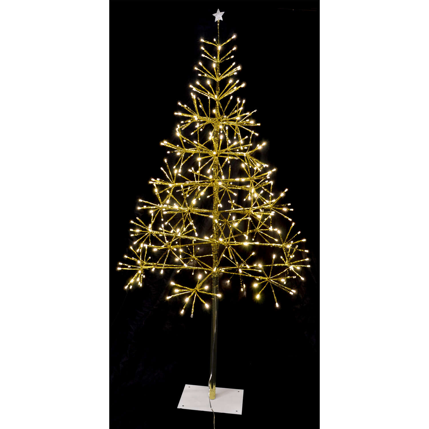 Celebrations  Light Burst Twinkle Tree  Yard Decor