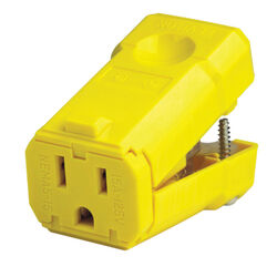 Leviton  Cord Connector  1 pk