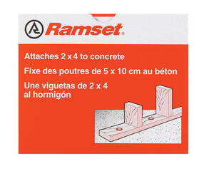 Ramset  .3 in. Dia. x 3 in. L Steel  Round Head Anchor Bolts  100 pk