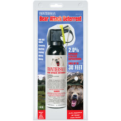 Frontiersman Clear Aluminum/Plastic Bear Spray