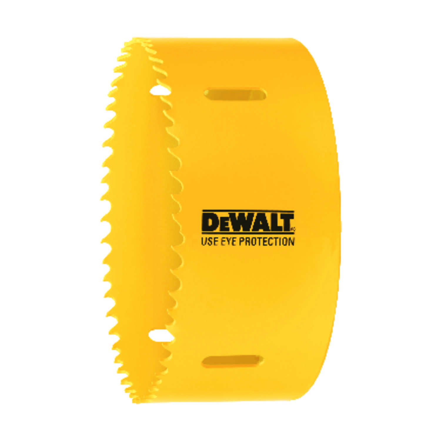 DeWalt  4 in. Dia. x 1.75 in. L Bi-Metal  Hole Saw  1/2 in. 1 pc.