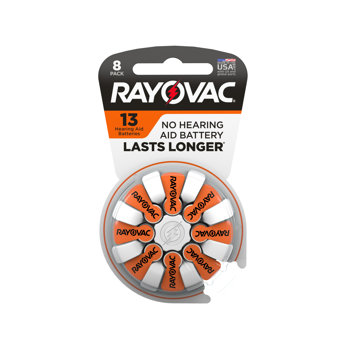 Rayovac  Zinc-Air  Hearing Aid Battery  8 pk 13