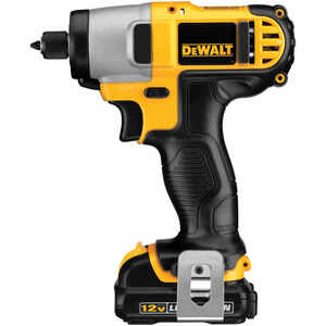 DeWalt  12 max volts 1/4 in. Hex  Cordless  Impact Driver  Kit 2450 rpm 3400 ipm 950 ft./lbs.