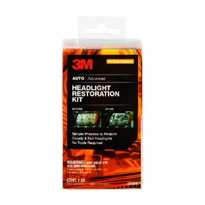 3M  Halogen  Headlight Restoration Kit  1