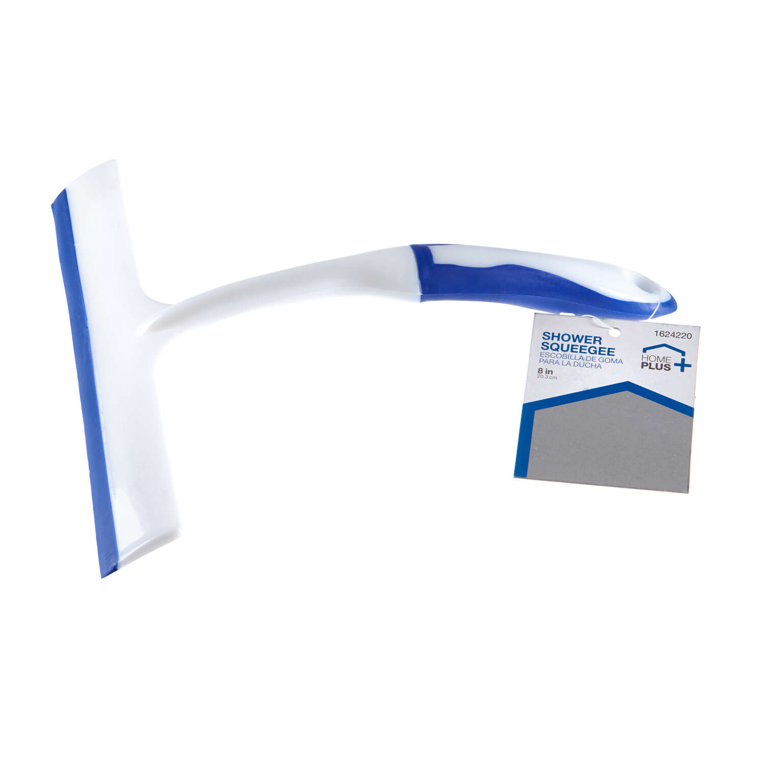 Home Plus  8 in. Plastic  Shower Squeegee