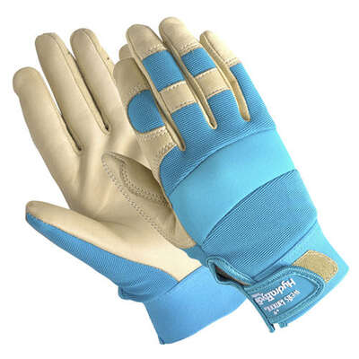 Wells Lamont  HydraHyde  Women's  Indoor/Outdoor  Work Gloves  Teal  L  1 pair