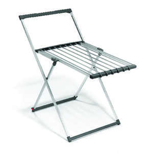 Polder  43 in. H x 24 in. W x 44 in. D Aluminum  Multi-Purpose Drying Rack