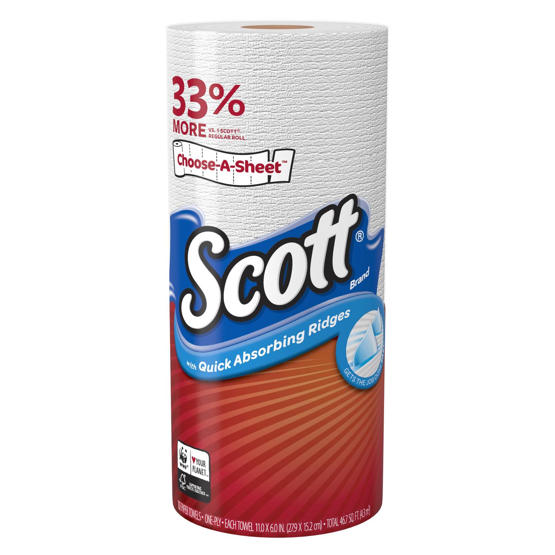 Scott Choose-A-Sheet Paper Towels 102 sheet 1 ply 24 pk