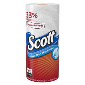 Scott  Choose-A-Sheet  Paper Towels  102 sheet 1 ply 24 pk