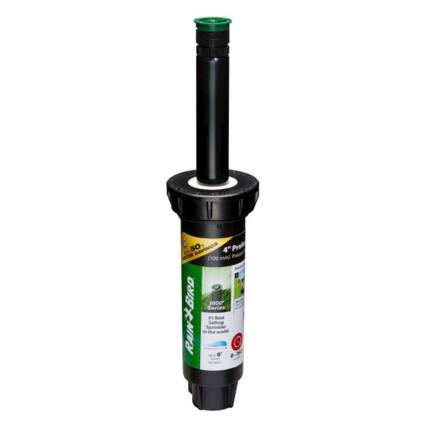 Rain Bird  1800 Series  4 in. H Adjustable  Pop-Up Spray Head