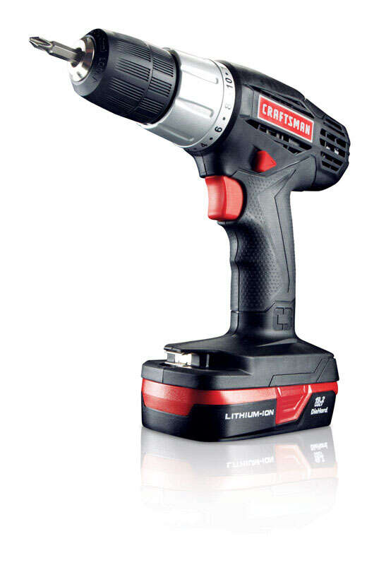 Craftsman  C3  19.2 volts 3/8 in. Brushless Cordless Compact Drill/Driver  Kit 600 rpm 2