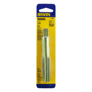 Irwin  Hanson  High Carbon Steel  SAE  Fraction Tap  3/4 in.-10NC  1 pc.