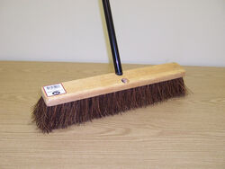 DQB  Palmyra  18 in. Garage Push Broom