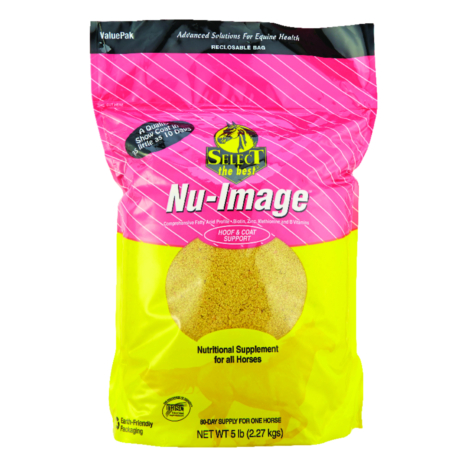 Nu-Image  Solid  Nutritional Supplement  For Horse 5 lb.