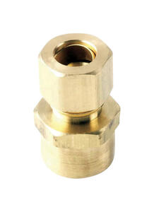 ACE  3/8 in. Compression   x 1/2 in. Dia. Sweat  Brass  Compression Adapter