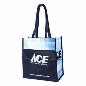 1 Bag at a Time  14.5 in. H x 8 in. W x 13 in. L Reusable Shopping Bag