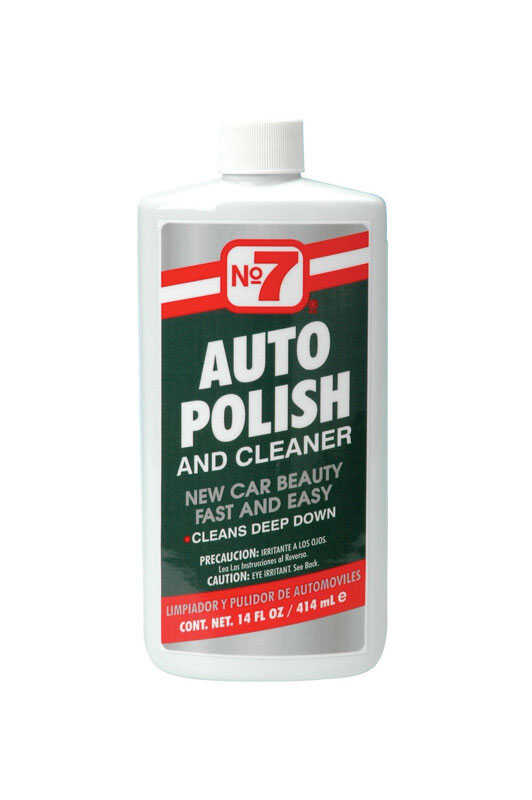 Pidilite  No. 7  Liquid  Automobile Polish  14 oz. For Deep Cleaning