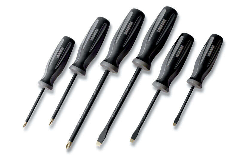 Craftsman  Extreme Grip  6 pc. 7 in. Screwdriver Set  Carbon Steel