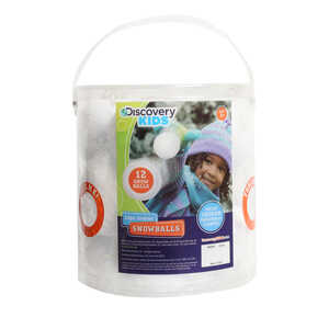 Discovery Kids  Indoor Snowballs  3 in.