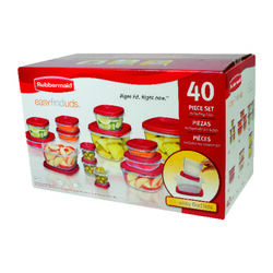 Rubbermaid  Food Storage Container Set  20 pk Clear
