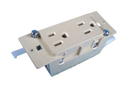 US Hardware  RV Duplex Receptacle  1 pk