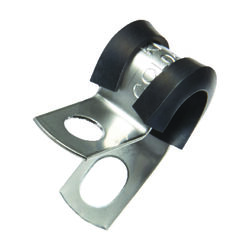 Jandorf  1/4 in. Dia. Stainless Steel  Cushion Clamp  2 pk