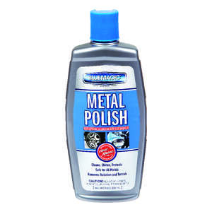 Blue Magic  Metal Polish  Liquid  Automobile Polish/Wax  For Stainless Steel And Fiberglass 8
