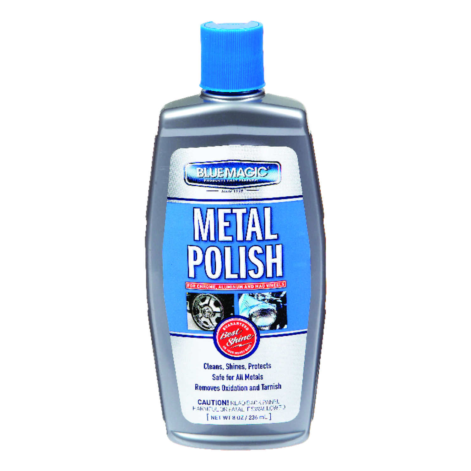 Blue Magic  Metal Polish  Liquid  Automobile Polish/Wax  8  For Stainless Steel And Fiberglass