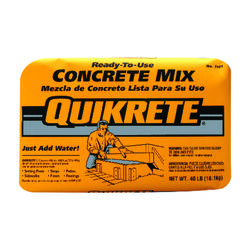 Quikrete  Ready-to-Use Concrete Mix