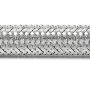 Ace  1/2 in. FIP   x 1/2 in. Dia. FIP  60 in. Stainless Steel  Supply Line