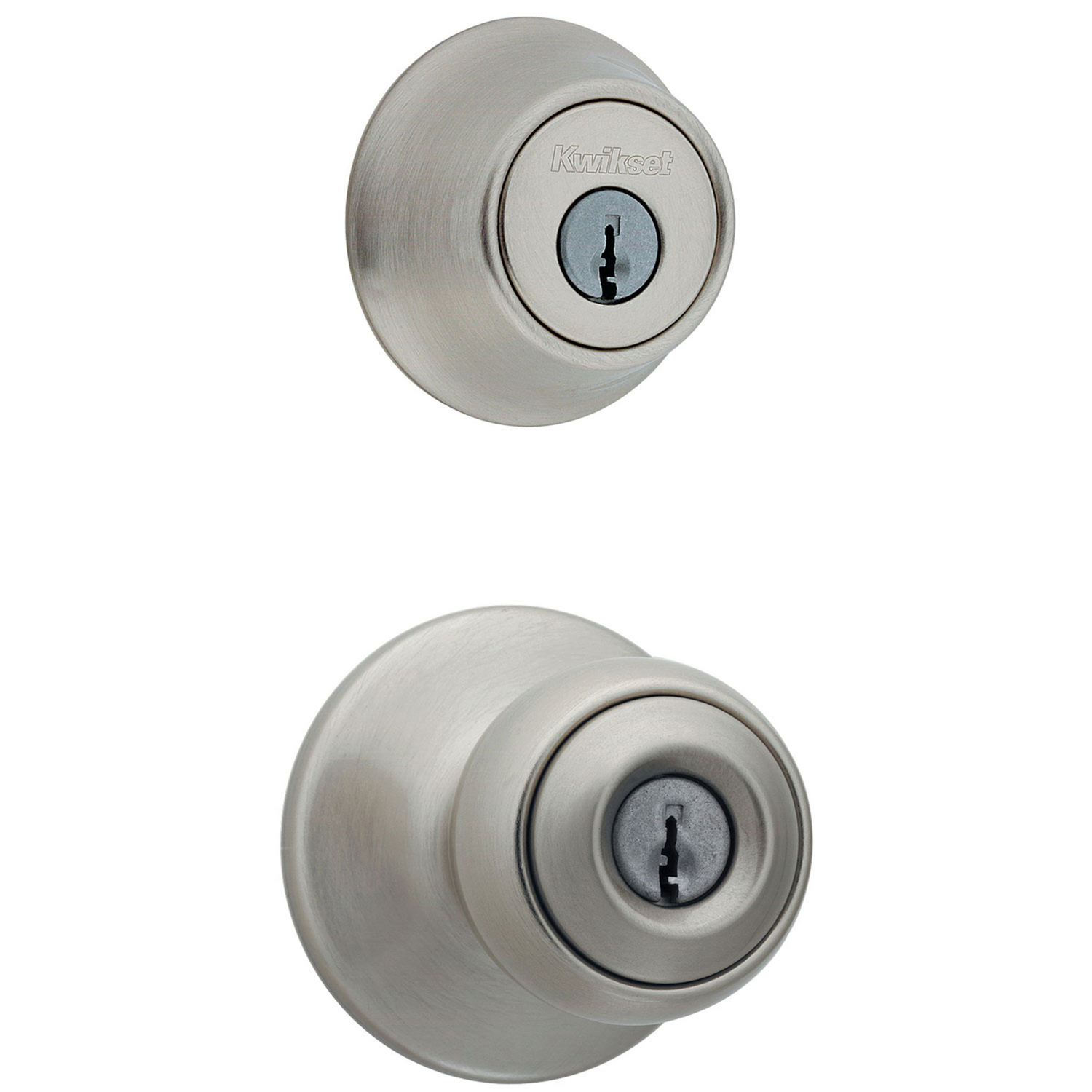 Kwikset  Polo  Satin Nickel  Steel  Entry Lockset  ANSI/BHMA Grade 3  1-3/4 in.