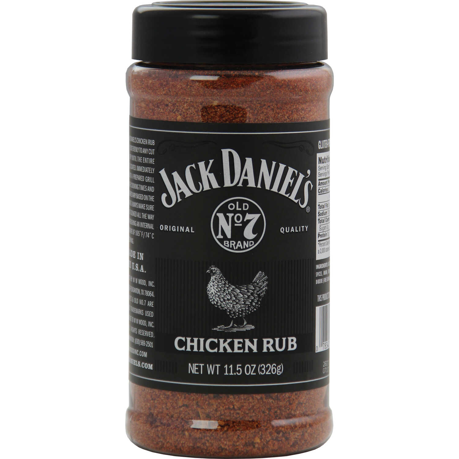 Jack Daniel's  Original  Chicken Rub  11 oz.