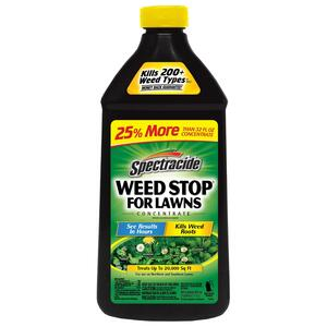 Spectracide  Weed Stop  Weed Killer  Concentrate  40 oz.
