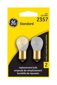 GE Lighting  Automotive Bulb  2357BP  2  12 volt