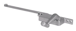 Prime-Line  Gray  Steel  Left  Single-Arm Casement  Window Operator  For Steel Framed Windows