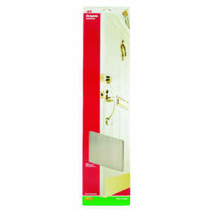 Ace  8 in. H x 34 in. L Bright Brass  Brass  Kickplate
