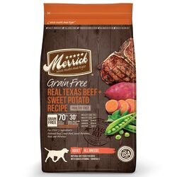 Merrick  Beef and Sweet Potato  Dry  Dog  Food  Grain Free 22 lb.