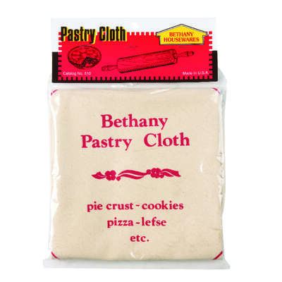 Bethany  19 in. L White  Cotton  Pastry Cloth