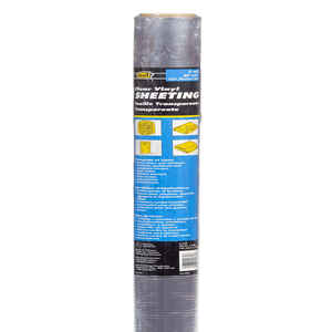 M-D Building Products  Clear  Indoor and Outdoor  Vinyl Sheeting  36 in. W x 25 ft. L