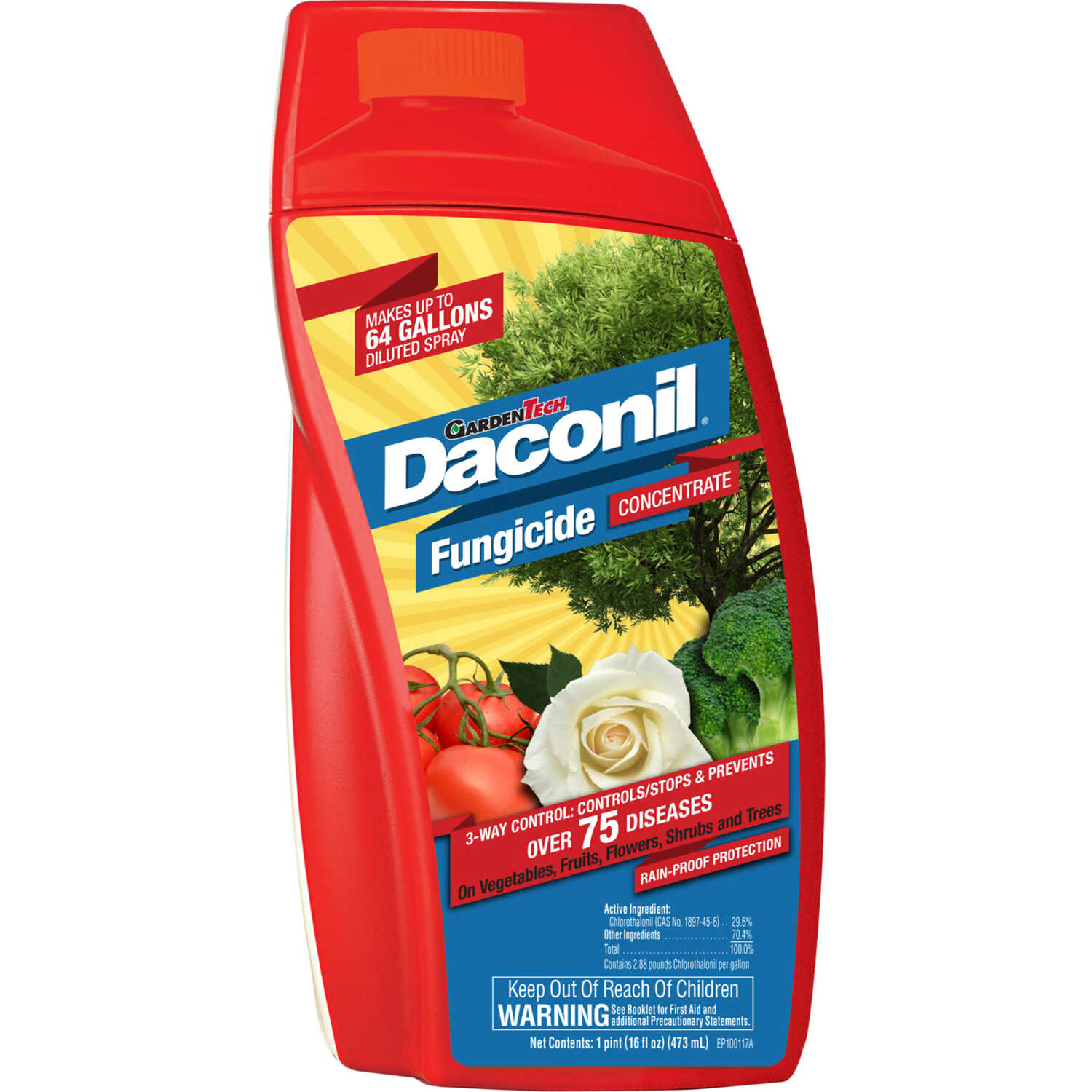 Garden Tech  Danconil  Concentrated Liquid  Fungicide  16 oz.