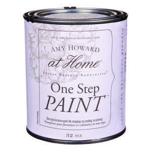Amy Howard at Home  Flat Chalky Finish  One Step Paint  32 oz. Selznick Grey